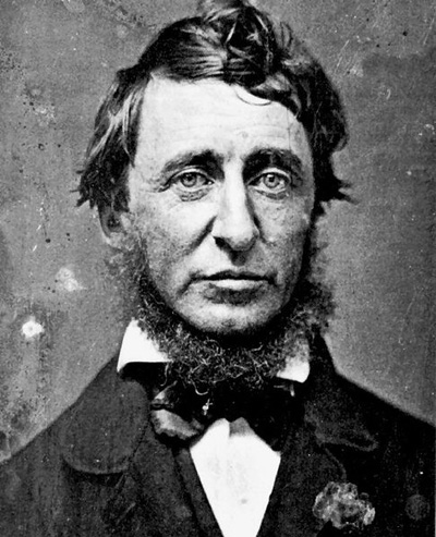 Henry David Thoreau - the world's first hippy