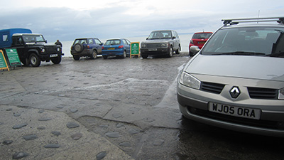 cars in Clovelly